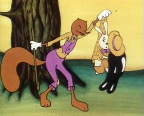 как кролик заставил братца лиса луну ловить видео
