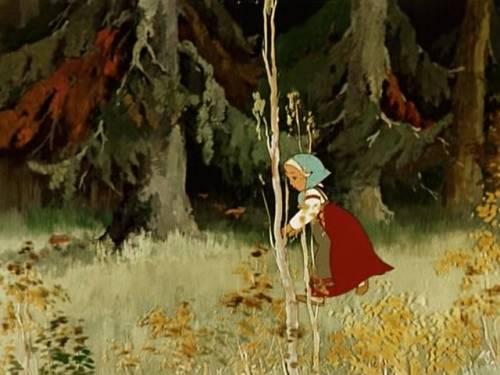 Красивая картинка дети в лесу