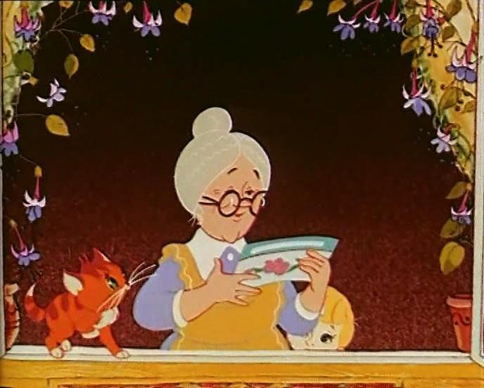 Бабушки из мультфильмов картинки