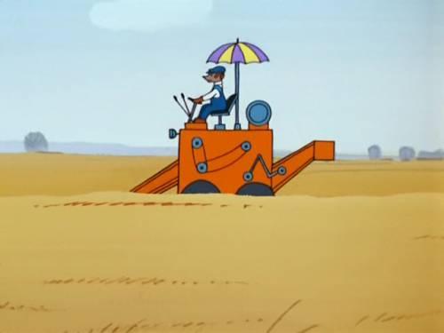 Красивая картинка Комбайн в поле скачать бесплатно на ...