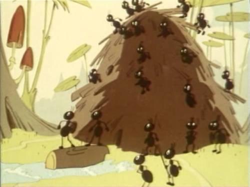 Красивая картинка Муравьи в муравейнике скачать бесплатно ...: http://sovetskiymultik.at.ua/photo/multiki_na_bukvu_b/begi_ruchejok/muravi_v_muravejnike/67-0-1131